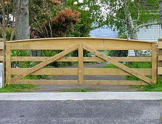 Morton Timber Fencing